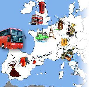 Autocars Lasbareilles Lourdes Pyrénées Réceptif Grand Tourisme - Tour to europe